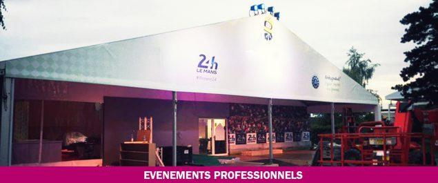 location matériels événements professionnels