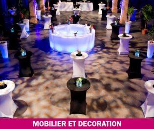 location mobiliers et décoration