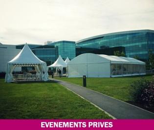 location matériels événements privés