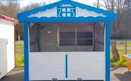 Chalet-pliable-de-3m-blanc-et-bleu-structura