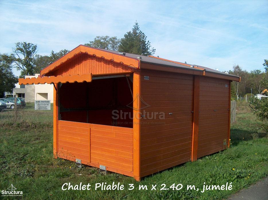 Location-Chalet_Pliable_Extérieur-Exposition-Structura-109 Vente de matériels neuf et d'occasion