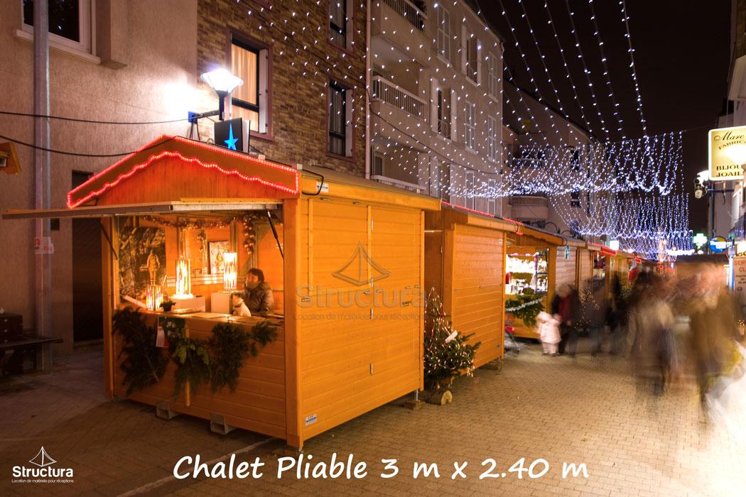 Location-Chalet_Pliable_Extérieur-Marché_de_Noel-Structura-103 Vente de matériels neuf et d'occasion