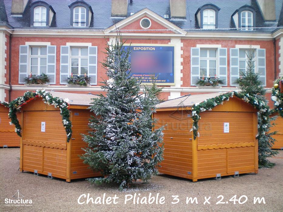 Location-Chalet_Pliable_Extérieur-Marché_de_Noel-Structura-105 Vente de matériels neuf et d'occasion