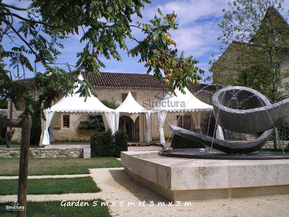 Location-Garden-Baptême-Structura-209 Vente de matériels neuf et d'occasion
