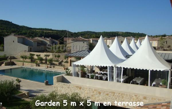 Gardens 5mx5m, terrasse