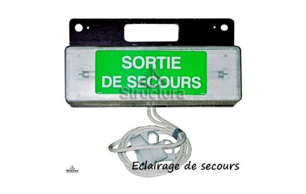 Option Accessoire | Eclairage secours