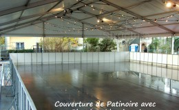 Location patinoire couverture patinoire Structura