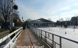 location patinoire non couverte Structura