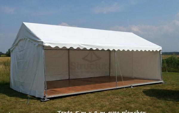 Tente 5mx8m, réception privé