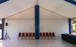 Location décoration mobilier habillage tissu Structura