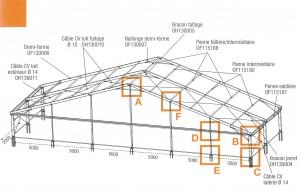 structure barnum chapiteau 30m location evenement priv structura structura location de. Black Bedroom Furniture Sets. Home Design Ideas
