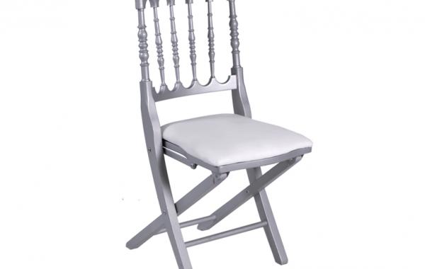 Chaise Napoléon grise