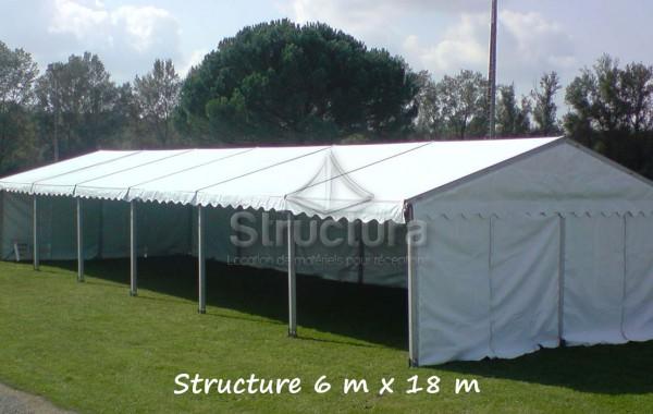 06- Structure (chapiteau) 6mx18m