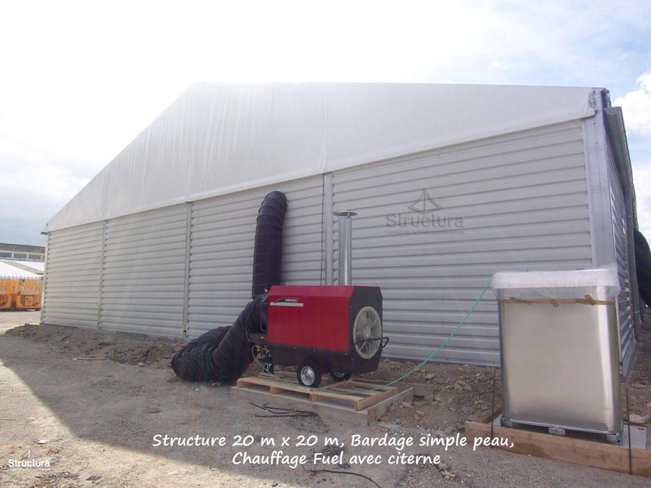 Chauffage structura location de mat riels de for Location chauffage exterieur