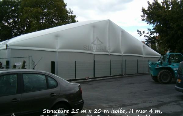 Structure et bâtiment de stockage