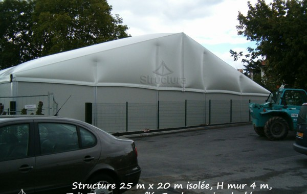 17- Bâtiment industriel (stockage) 25mx20m