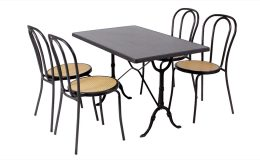 chaise-bistrot-table