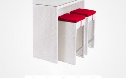 New York modele blanc assise rouge Structura
