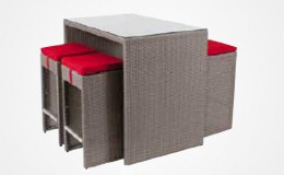 New York modele gris assise rouge Structura