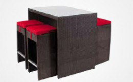 New York modele noir assise rouge Structura