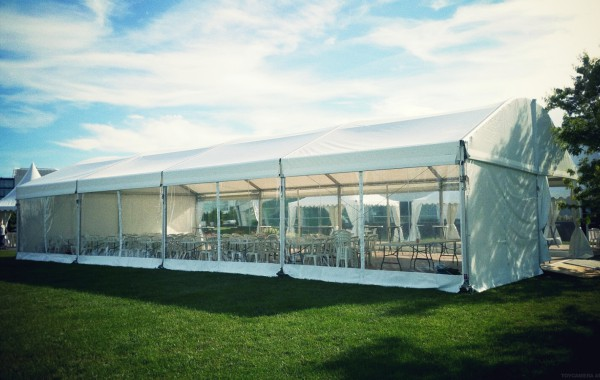 Chapiteau, garden cottage, tente, inauguration