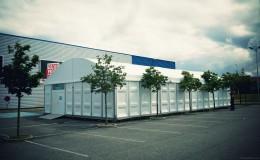 location chapiteau espace de vente temporaire Structura