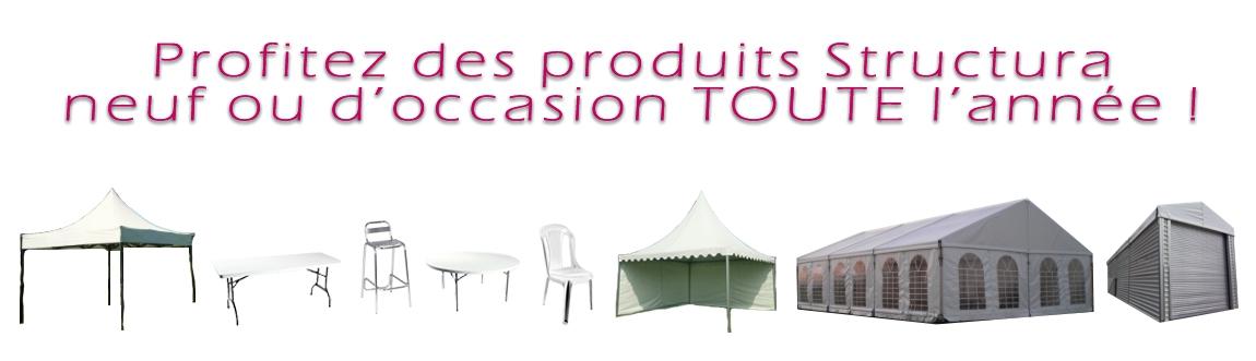 Structura vente de matériels de réception neuf ou d'occasion - Profitez toute l'année !
