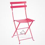 chaise-bistrot-fuschia 1-1 Chaises