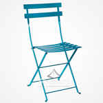 chaise-bistrot-turquoise 1-1 Chaises