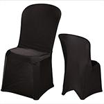 chaise-housse-noire 1-1 Chaises
