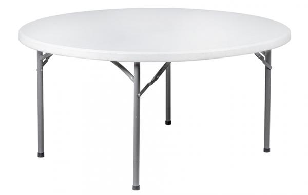 2-1 Table ronde 6/8 p. ou 8/10 p. / Libre service
