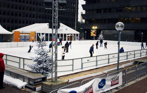 Patinoires non couvertes
