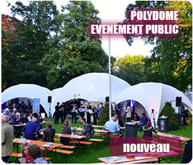 location de matériels de réception polydome-evenement-public