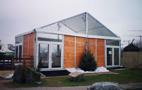 17- Structure (chapiteau), bardage bois