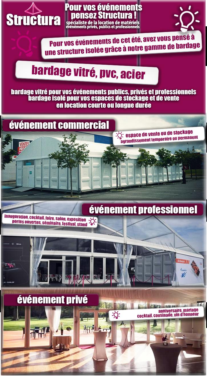 newsletter-Structura-bardage Des structures en bardage toutes : pvc, alu, acier, bois !