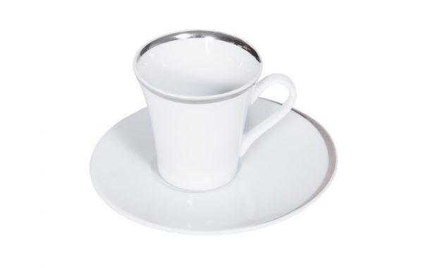 """4-2 Tasse à café """"Ellipse"""" + soucoupe"""