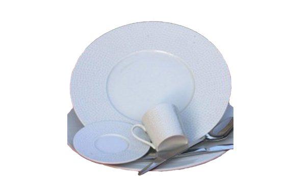 """Assiette """"Tam Tam"""" + tasse"""