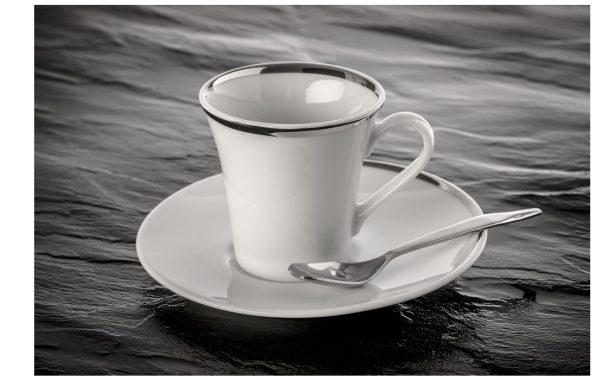 """Tasse à café """"Ellipse"""" + soucoupe"""