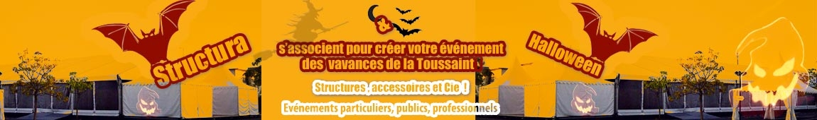 Particuliers, professionnels, collectivités, préparez vos événements Halloween !