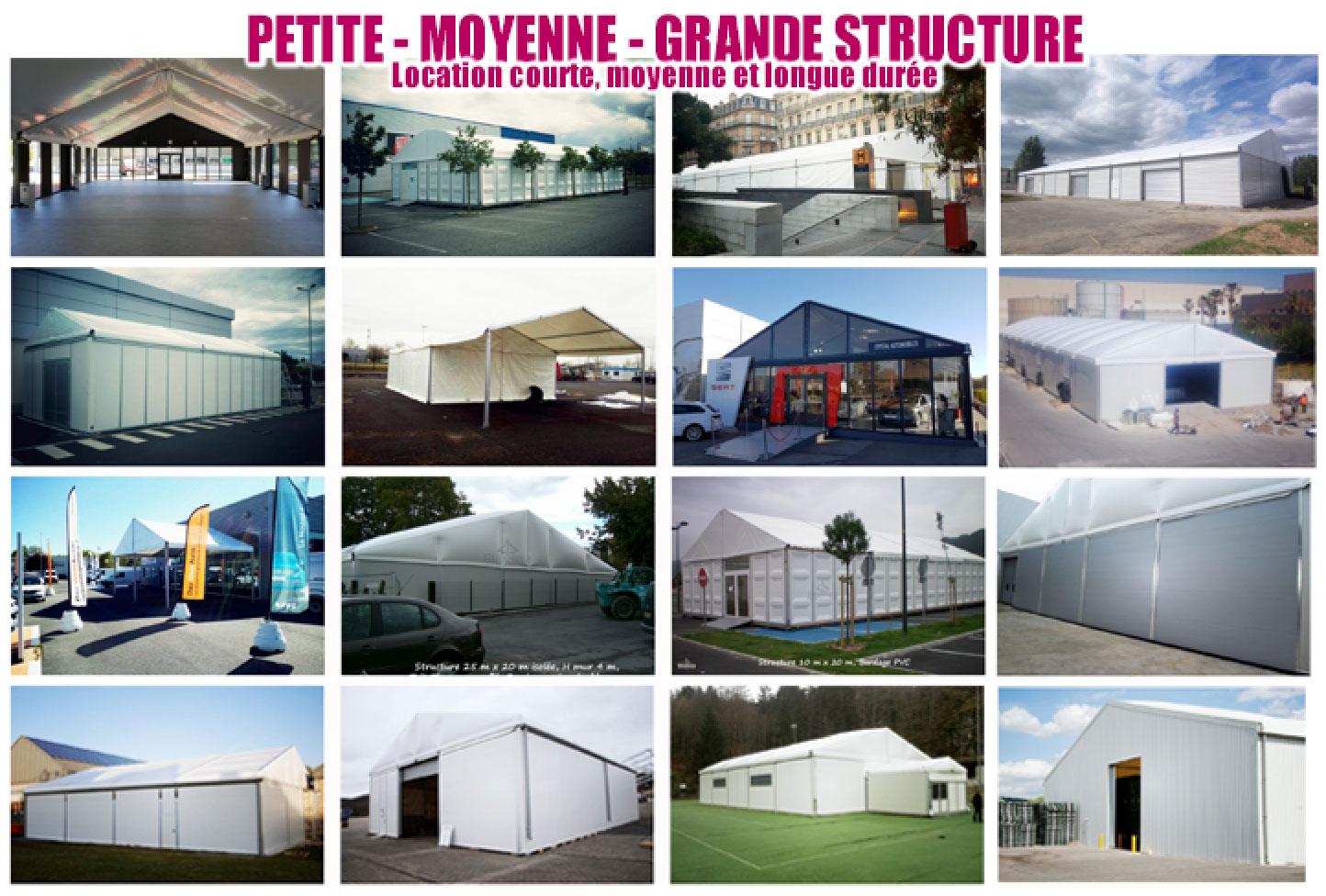 bâtiment industriel petite moyenne grande structure Structura location vente