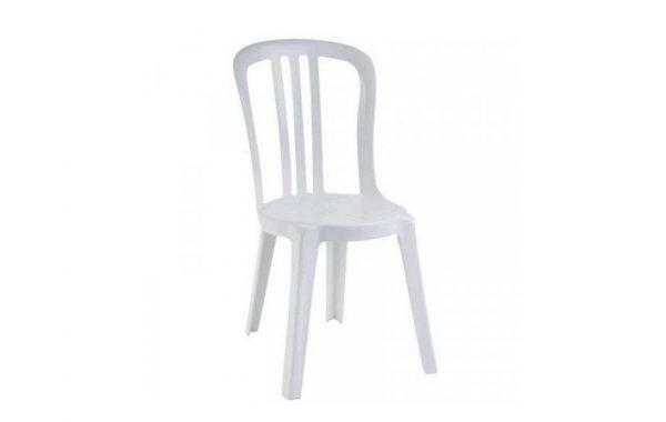 Chaise Miami pvc blanche / Vente