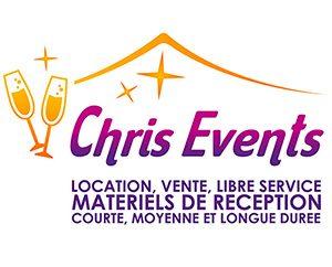 Chris Events location matériels de réception Isère Rhônes-Alpes
