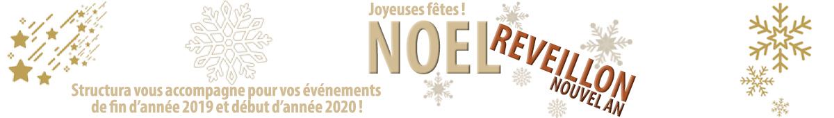Joyeuses fêtes ! Préparons ensemble vos événements de fin 2019 et début 2020 !