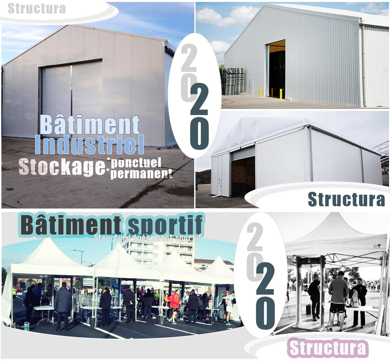 Structura structure industrielle, bâtiment industriel, bâtiment sportifet structure sportive