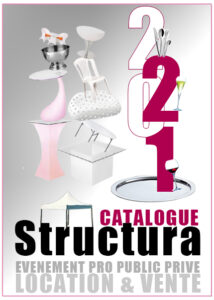 catalogue Structura location vente matériels de réception