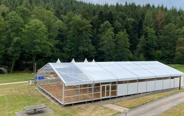 09- Structure en bois (chapiteau) 6, 8, 10 mètres