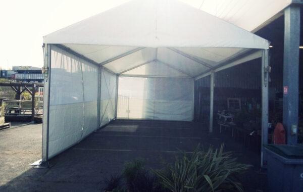 12- Structure à demeure stockage (chapiteau) 5mx10m