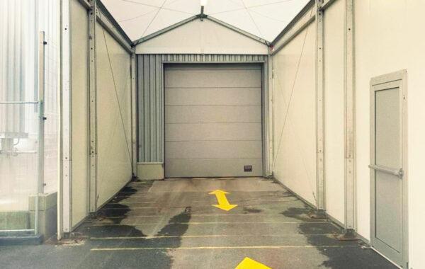 12- Structure zone de stockage (chapiteau) 5mx12m