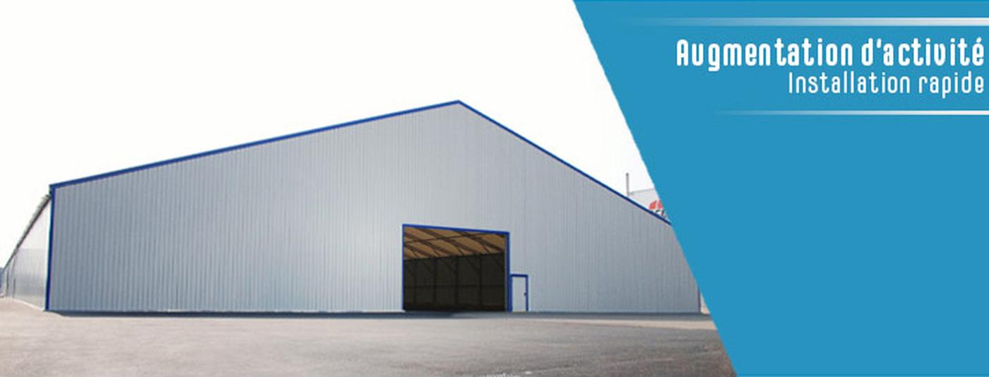 Industriels et professionnels : bâtiment industriel de stockage clé en main | Location & Vente
