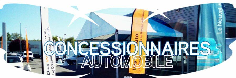 concessionnaires automobile location vente chapiteau structure temporaire Structura